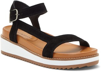 Lucky Brand Ibrien Leather Sandal