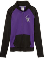PINK Colorado Rockies Bling Track Jacket