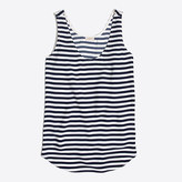 J.Crew Factory Striped classic tank top