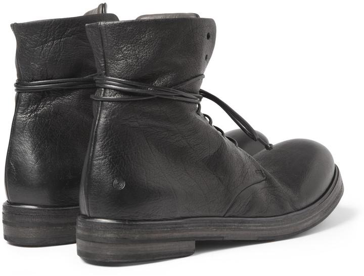 Marsèll Full-Grain Leather Boots