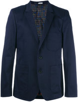 Paul Smith patch pocket blazer - men - Cotton/Spandex/Elastane/Viscose - 44