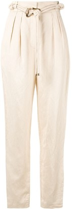Acler Corsica high-waisted trousers