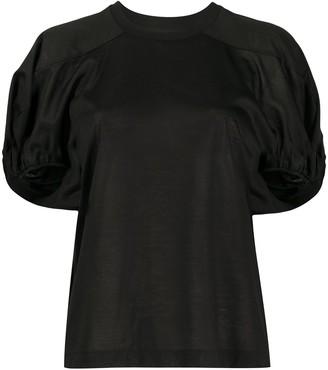 Marques Almeida gathered short sleeve T-shirt