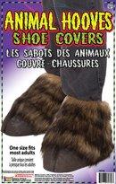 Forum Novelties Inc. Animal Hooves Costume Shoe Covers Adult Fits Most
