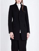Y's YS Single-breasted wool-twill jacket
