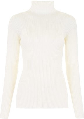 Jil Sander Ribbed Knit Pull
