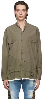 Greg Lauren Green Paul and Shark Edition 50/50 Shirt