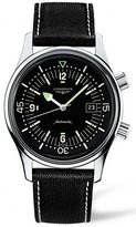 Longines Heritage L36744500 42mm Automatic Stainless Steel Case Calfskin Synthetic Sapphire Men's Watch