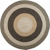 Colonial Mills Plymouth Reversible Braided Indoor/Outdoor Round Rug