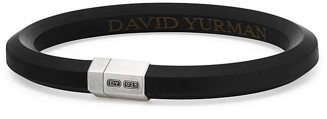 David Yurman Hex Bracelet in Black