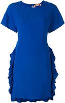 No.21 side pleat dress - women - Silk/Acetate - 40