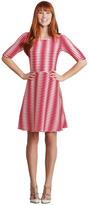 Donna Morgan D3199M Wavey Stripe Jersey Dress