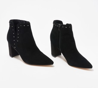 Marc Fisher Pointed-Toe Booties - Client