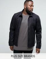 D-Struct Plus Faux Suede Shirt Jacket