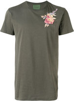 Amen floral embroidered T-shirt - men - Cotton/Viscose - 50