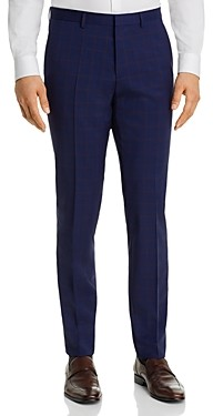 HUGO BOSS Hets Plaid Extra Slim Fit Suit Pants