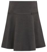 George Girls School Bow Trim Flippy Skirt