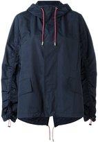 Marni drawstring sleeve parka jacket - women - Cotton/Polyamide - 42