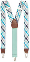 Club Room Men's Plaid Suspenders, Only at Macy's