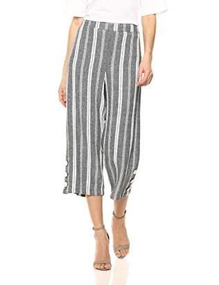 Chaus Women's Wideleg Striped Pants