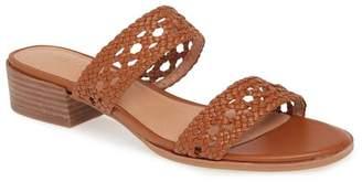Madewell The Marianna Basketweave Slide Sandal
