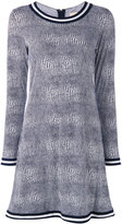 MICHAEL Michael Kors printed dress - women - Polyester/Spandex/Elastane - S
