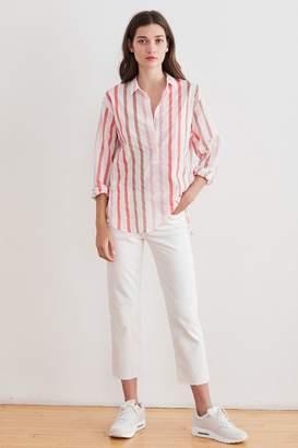 Velvet by Graham & Spencer Velvet By Graham Spencer Talia Ombre Stripe Button-Up Shirt