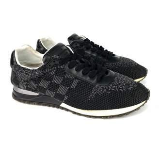 Louis Vuitton Run Away Black Cloth Trainers