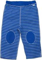 I Play I-Play Baby Organic Yoga Pants,Royal Blue Stripe,12-18 Months