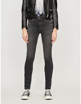 AG Jeans The Farrah skinny high-rise jeans
