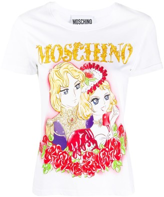 Moschino graphic-print T-shirt