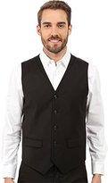 Perry Ellis Men's Solid Twill Stripe Suit Vest