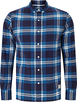 Penfield Riverview Check Shirt, Blue