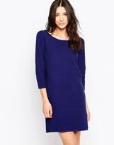 Ichi 3/4 Sleeve A Line Dress