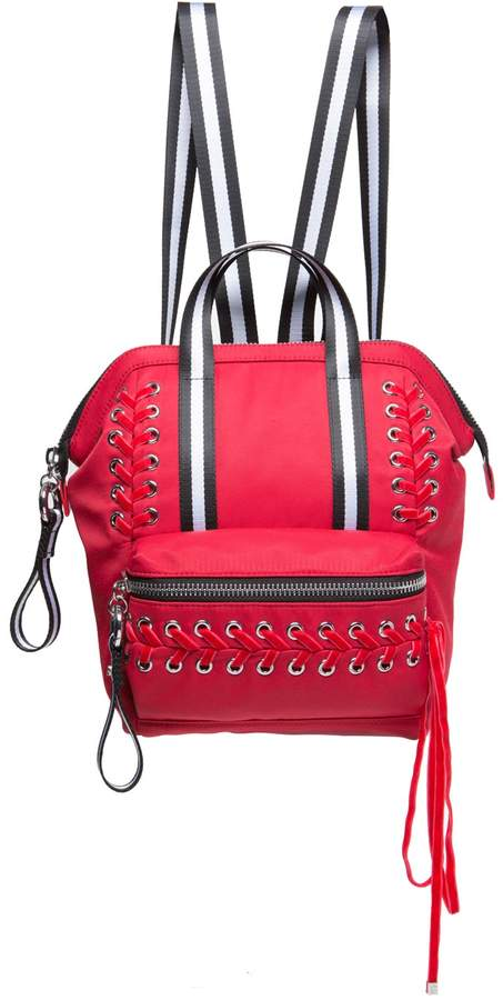 Juicy Couture Red Laced Mini Backpack