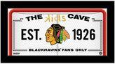 """Steiner Sports Chicago Blackhawks 10"""" x 20"""" Kids Cave Sign"""