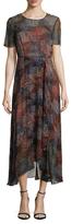 LK Bennett Silk Chiffon Printed Camisole Dress