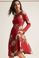 Forever 21 Floral Knit Dress
