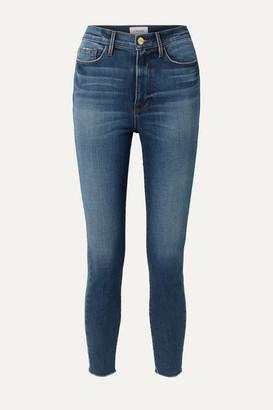 Frame Ali High-rise Skinny Jeans - Light denim