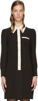 Marc Jacobs Black Button-Up Dress