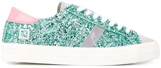 D.A.T.E Glitter Detail Low Top Sneakers