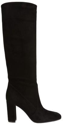 Gianvito Rossi Glen Knee-High Suede Boots