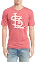 Red Jacket Men's 'Saint Louis Cardinals - Calumet' Graphic V-Neck T-Shirt