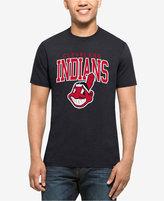 '47 Men's Cleveland Indians Splitter Blockhouse T-Shirt