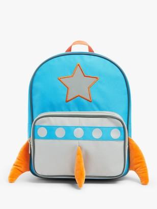 John Lewis & Partners 3D Rocket Children's Backpack