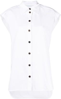 Erika Cavallini Sleeveless Long Shirt