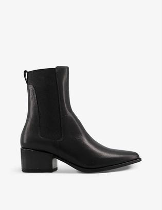 Vagabond Marja leather heeled Chelsea boots