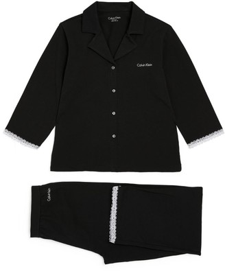 Calvin Klein Kids Long-Sleeved Pyjama Set (8-16 Years)