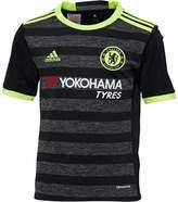 adidas Junior Boys CFC Chelsea Away Shirt Black/Solar Yellow/Granite
