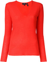 Theory V-neck jumper - women - Cashmere - M